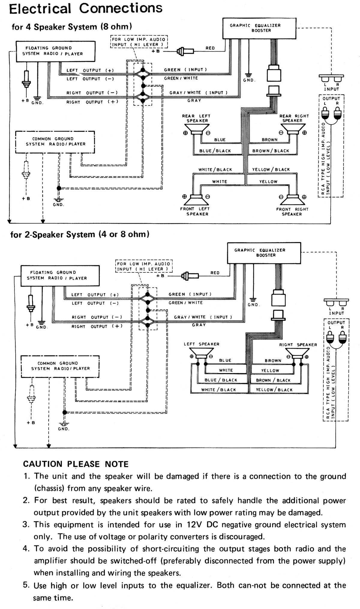 booster wiring schematic help! wiring a '79 am fm to a power booster equalizer?? the equalizer wiring diagram at edmiracle.co