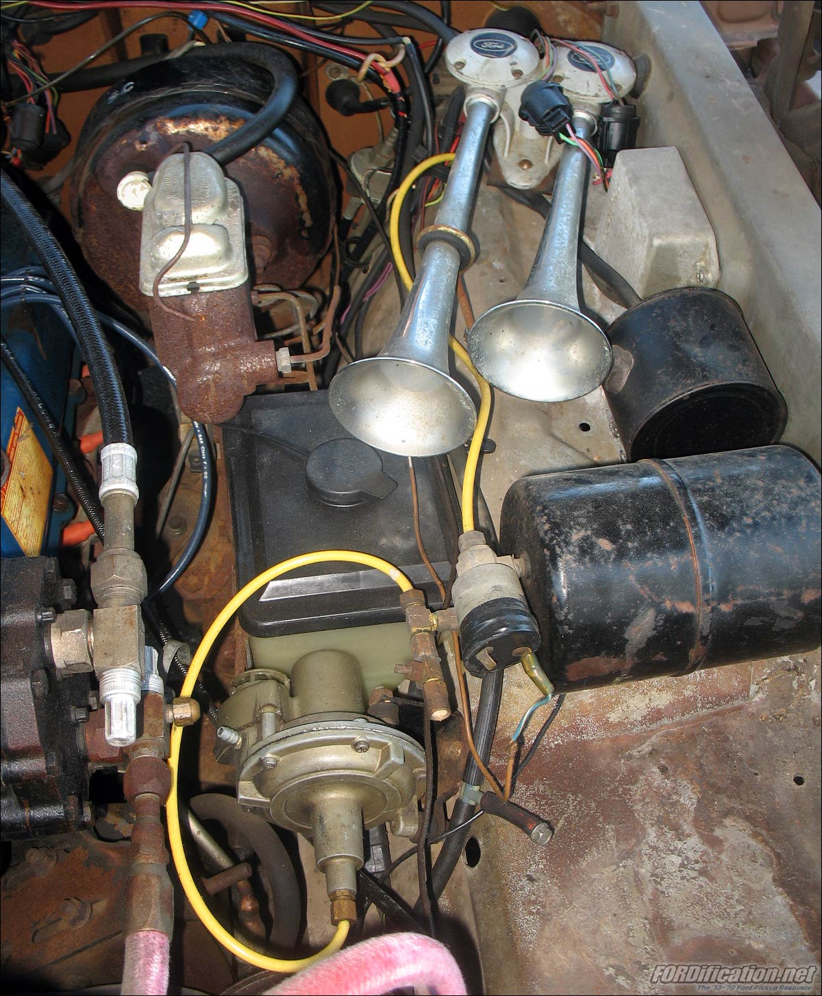 How To Wire A Train Horn Solenoid Wiring Library Air Any Experts Here The Fordification Com Forums Shift Light Hadley