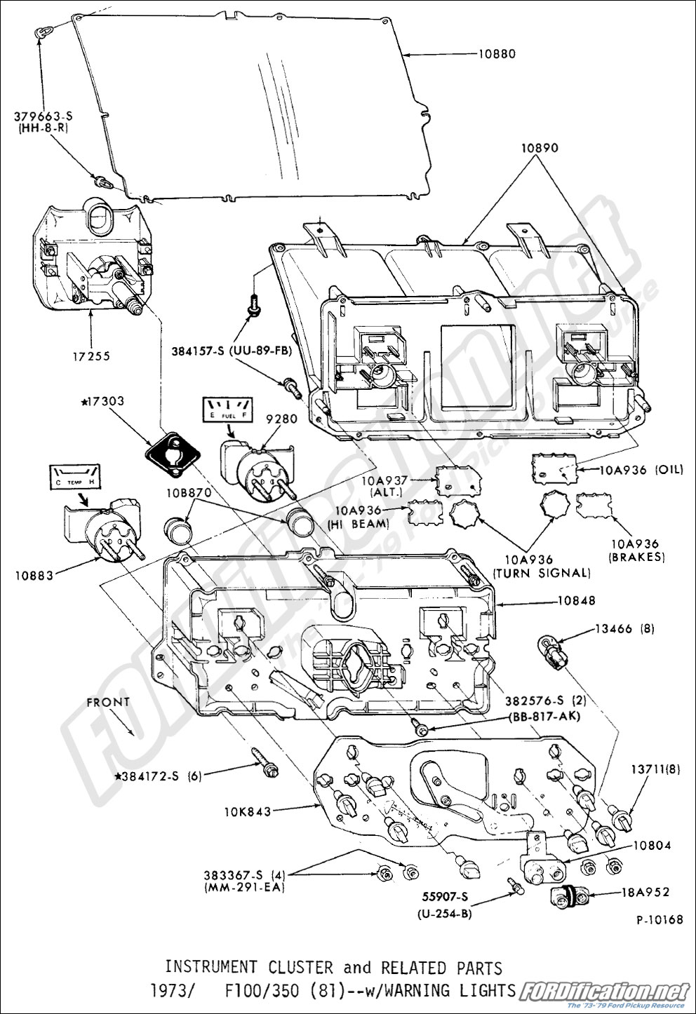 79 corvette wiring diagram for gauges 1968 corvette wiring diagram for starter ford truck part numbers instrument panel fordification net
