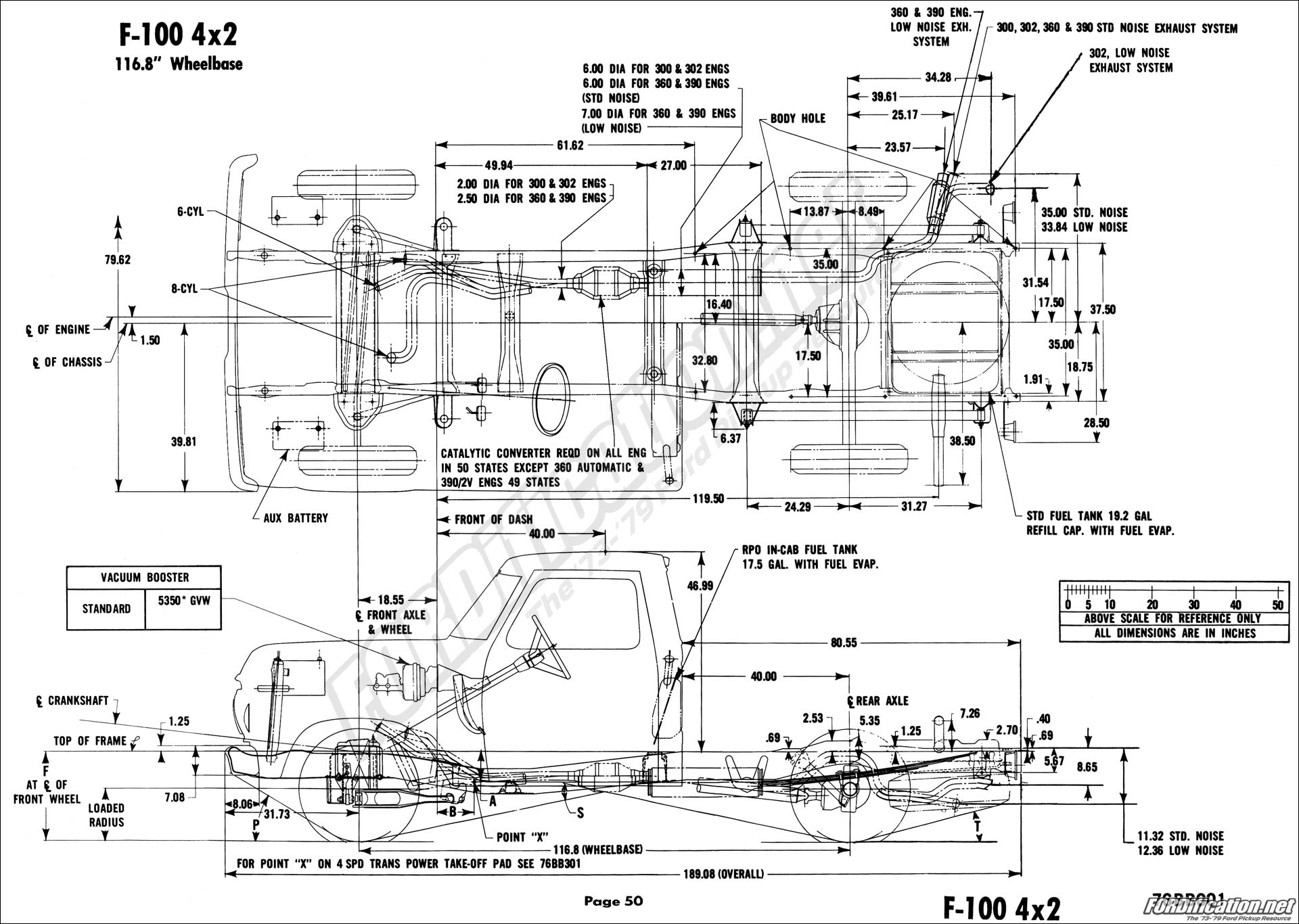 1154124 Frame Diagram Measurements on 1960 Ford F100 Wiring Diagram