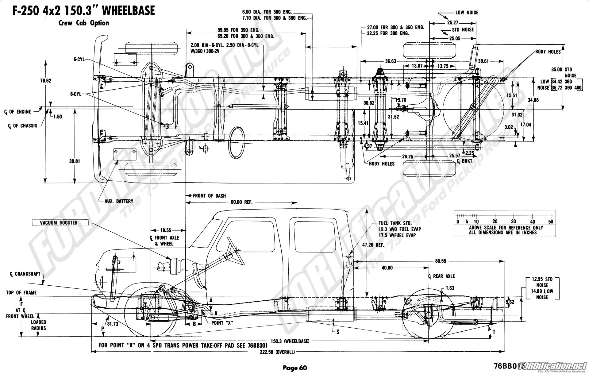 1976 ford body builder u0026 39 s layout book