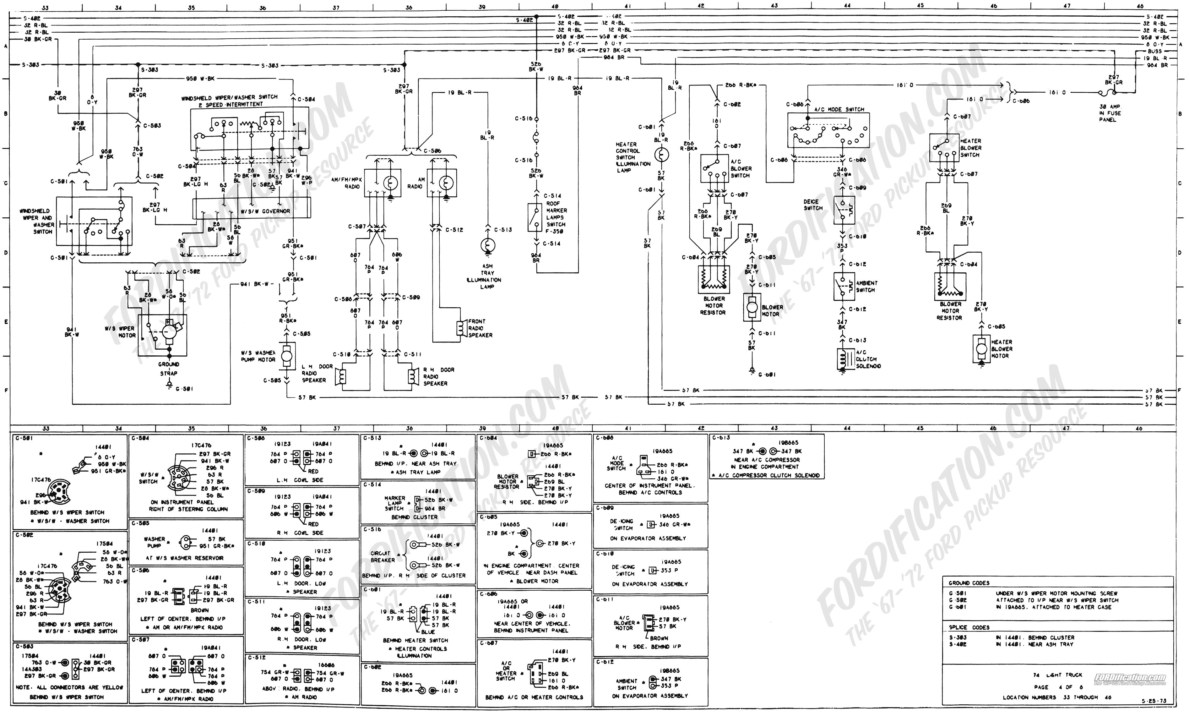 1979 Ford 460 Wiring Diagram Diagrams Engine Exploded 1973 Truck Schematics Fordification Net Rh 1984 Schematic Firing Order